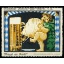 Münchner Künstler-Bier-Merkl Magst an Radi