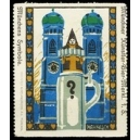 Münchner Künstler-Bier-Merkl Münchens Symbole