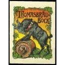 Thomasbräu Bock (Bock mit Bierfass)
