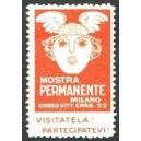 Milano Mostra Permanente (rot klein)