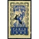 Paris 1925 Exposition Intern. des Arts Décoratifs (blau)