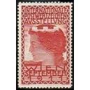 Wien 1911 Internationale Postwertzeichen Ausstellung (rot)