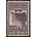 Wien 1911 Internationale Postwertzeichen Ausstellung (violett)