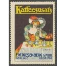 Wesenberg Berlin Kaffezusatz (signiert)