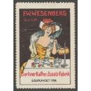 Wesenberg Berliner Kaffe-Zusatz-Fabrik (unsigniert)