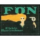 Fön elektrischer Haartrockner (klein - grün)