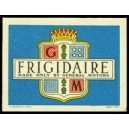 GM Frigidaire Made only by General Motors