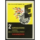 Hannover 1952 2a Esposizione Europea della Macchina Utensile