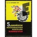 Hannover 1957 5. Europäische Werkzeugmaschinen Ausstellung