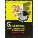 Hannover 1957 5te Europeiska Verktygsmaskin-Utställningen