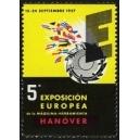 Hanover 1957 5a Exposicion Europea da la Maquina-Herramienta