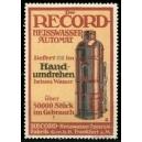 Record Heisswasser-Automat Nr. 2