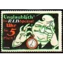 R LB Spezial Uhr für 5 Mark, Unglaublich (WK 02)