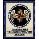 Bayrischer Verkehrs-Beamten Verein (Rad mit Flügeln)