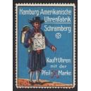 Hamburg Amerikanische Uhrenfabrik Schramberg (WK 01)