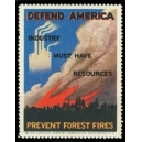Defend America Industry must have resources Prevent Firest Fires