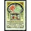 Graz 1909 Ausstellung Briefmarkenwesen u. Reklame (grünlich)