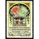 Graz 1909 Ausstellung Briefmarkenwesen u. Reklame (weiss)