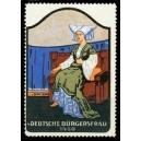 Frauentrachten 04 Deutsche Bürgersfrau 1450