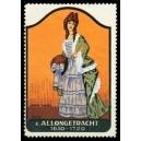 Frauentrachten 08 Allongetracht 1650 - 1720