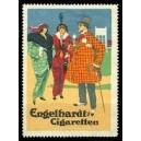 Engelhardt Cigaretten (2 Frauen + 1 Mann)