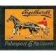 Engelhardt Fahrsport 6 Pfg Cigarette