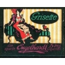 Engelhardt Grisette die aparte 5 Pfg Cigarette