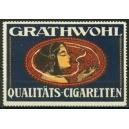 Grathwohl Qualitäts-Cigaretten (Frauenkopf - blau)