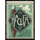 HA-CI-FA Hamburger Cigarren Fabriken