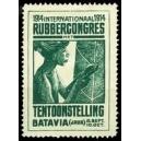 Batavia 1914 Rubbercongres Tentoonstelling (grün)