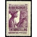 Batavia 1914 Rubbercongres Tentoonstelling (lila)