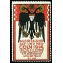 Cöln 1914 Ausstellung Alt und Neu