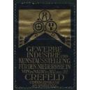 Crefeld 1911 Gewerbe Industrie und Kunstausstellung
