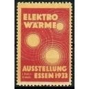 Essen 1933 Ausstellung Elektro Wärme