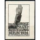 Berlin 1926 Grosse Polizei-Ausstellung
