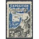 Charleroi 1911 Exposition (blau)