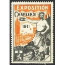 Charleroi 1911 Exposition (orange)