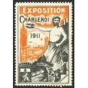 Charleroi 1911 Exposition (orange)