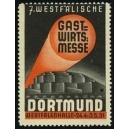 Dortmund 1931 7. Westfälische Gastwirts Messe