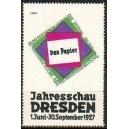 Dresden 1927 Das Papier Jahresschau