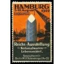 Hamburg 1922 Reichs-Ausstellung Kolonialwaren und Lebensmittel