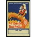 Hamburg 1951 41. Wander-Ausstellung Landwirtschafts-Gesellschaft