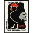 Hannover 1954 Deutsche Jung-Geflügel-Schau