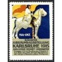 Karlsruhe 1915 Badische Jubiläums-Ausstellung ... (blau)