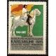 Karlsruhe 1915 Badische Jubiläums-Ausstellung ... (grün)