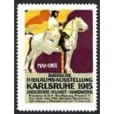 Karlsruhe 1915 Badische Jubiläums-Ausstellung ... (lila)