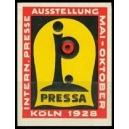 Köln 1928 Pressa Internat. Presse Ausstellung (geprägt)