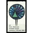 Lausanne 1963 44e Foire Nationale Comptoir Suisse