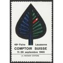 Lausanne 1965 46e Comptoir Suisse