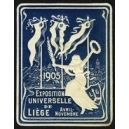 Liège 1905 Exposition Universelle (Var K - dunkelblau)
